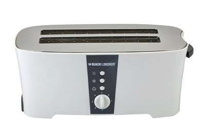 Black & Decker ET124 1350-Watt 4-Slice Cool Touch Toaster Review - Top Toasters in India!
