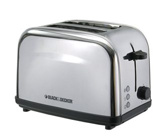 Black & Decker ET222 2-Slice Stainless Steel Pop-up Toaster Review - One of the Best Toasters in India!