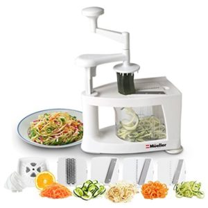 Mueller Spiral-Ultra 4-Blade Spiralizer Pasta Maker Review