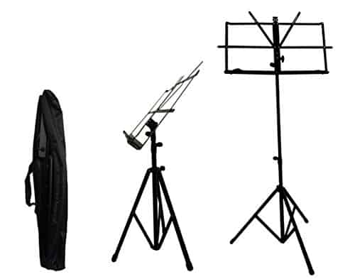 Crafty Gizmos Black Adjustable Folding Music Stand Review