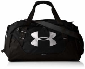 Under Armour Polyester 11.8 inches Black Full Heather Sports Duffel Review - Best Gym Bags in India!